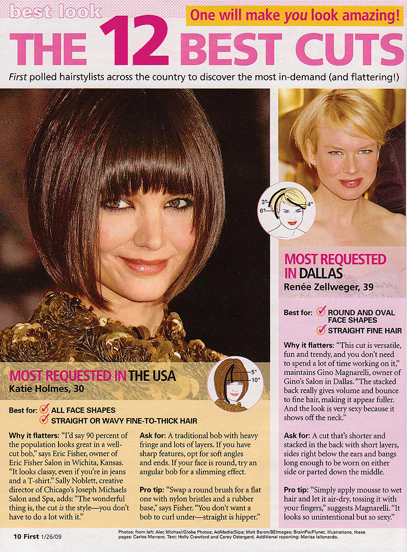 First For Women magazine January 2009